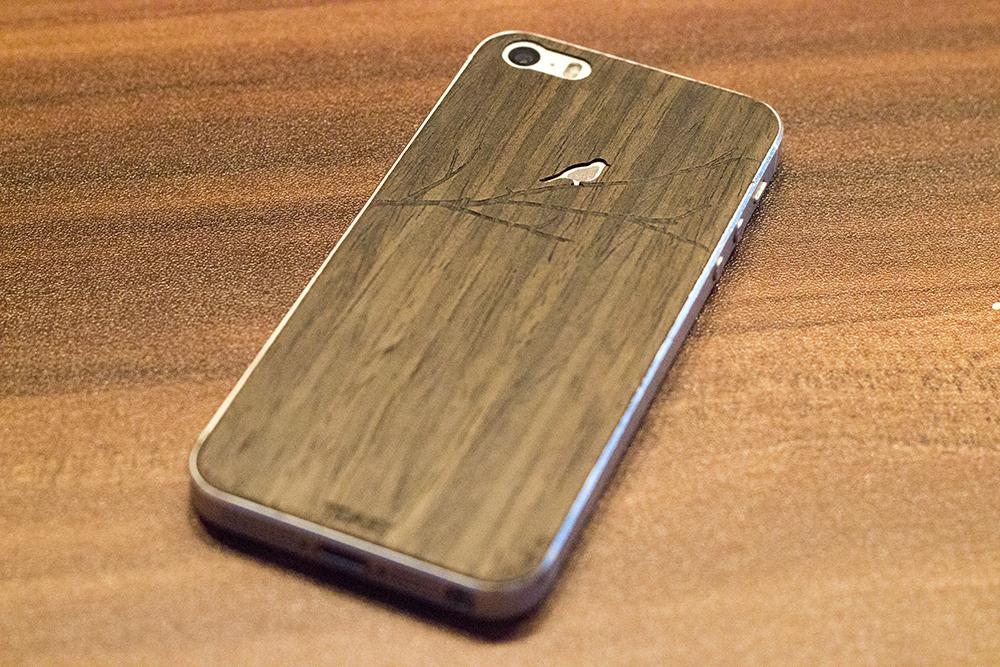 Rückseite meines iPhone 5s mit dem Toast-Cover