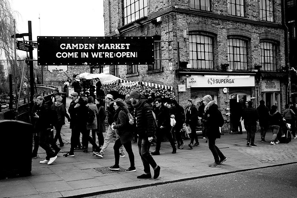 Camden Market – Eingang
