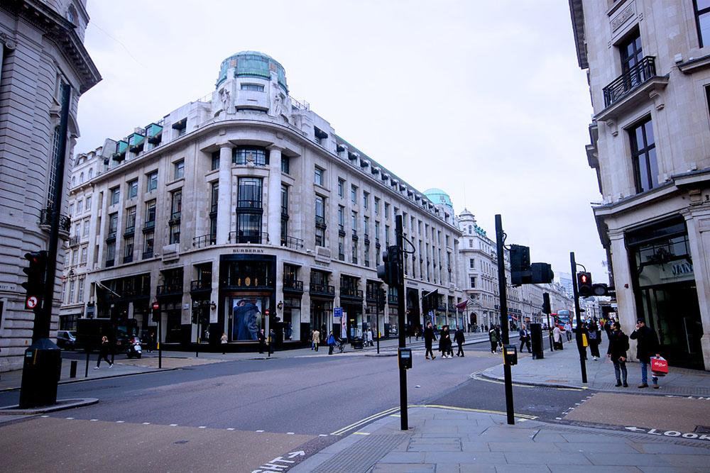 Impression der Regent Street.