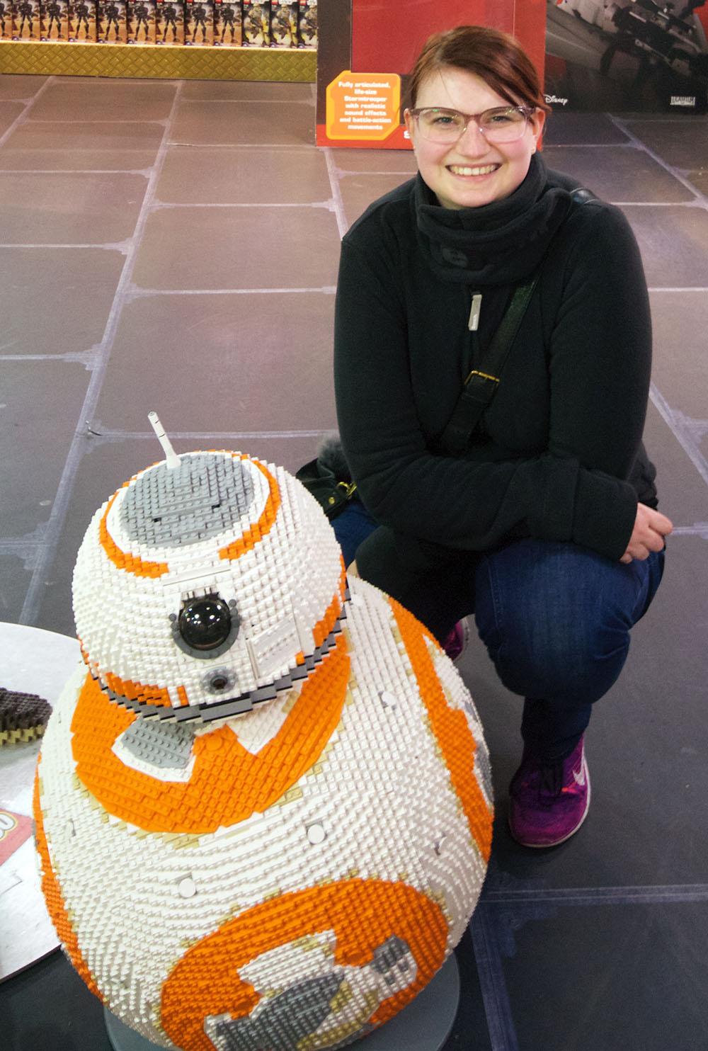 Star Wars BB-8 aus Lego