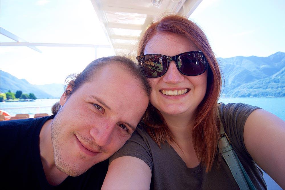 Fähre von Locarno nach Ascona