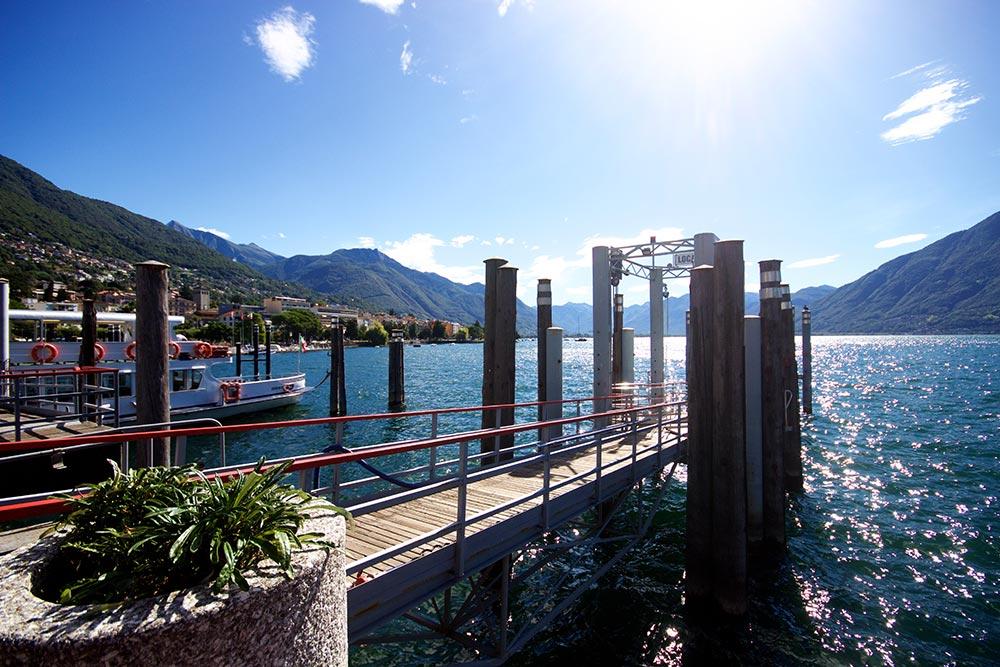 Hafen in Locarno
